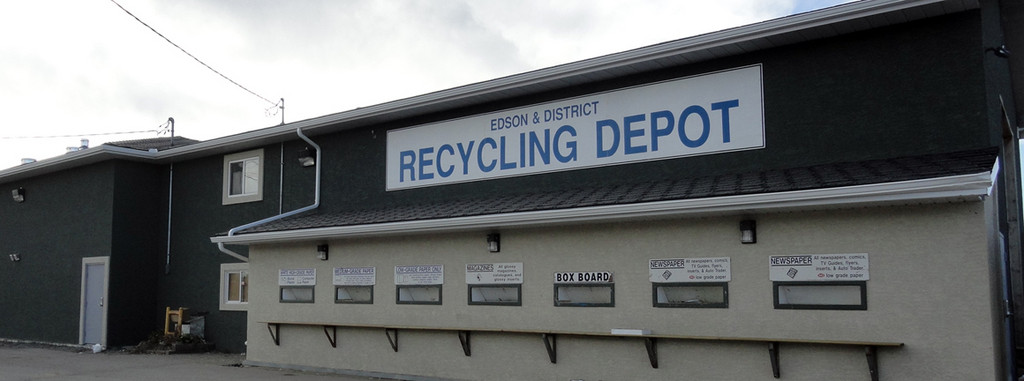 Recycling Depot Town Of Edson