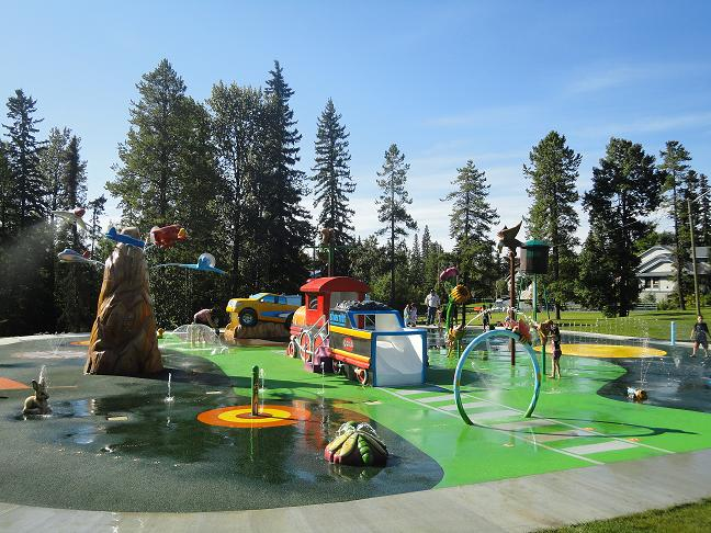 Kinsmen Spray Park: Town of Edson
