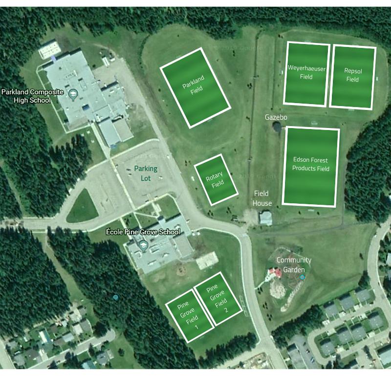 Parkland Soccer Fields Town Of Edson